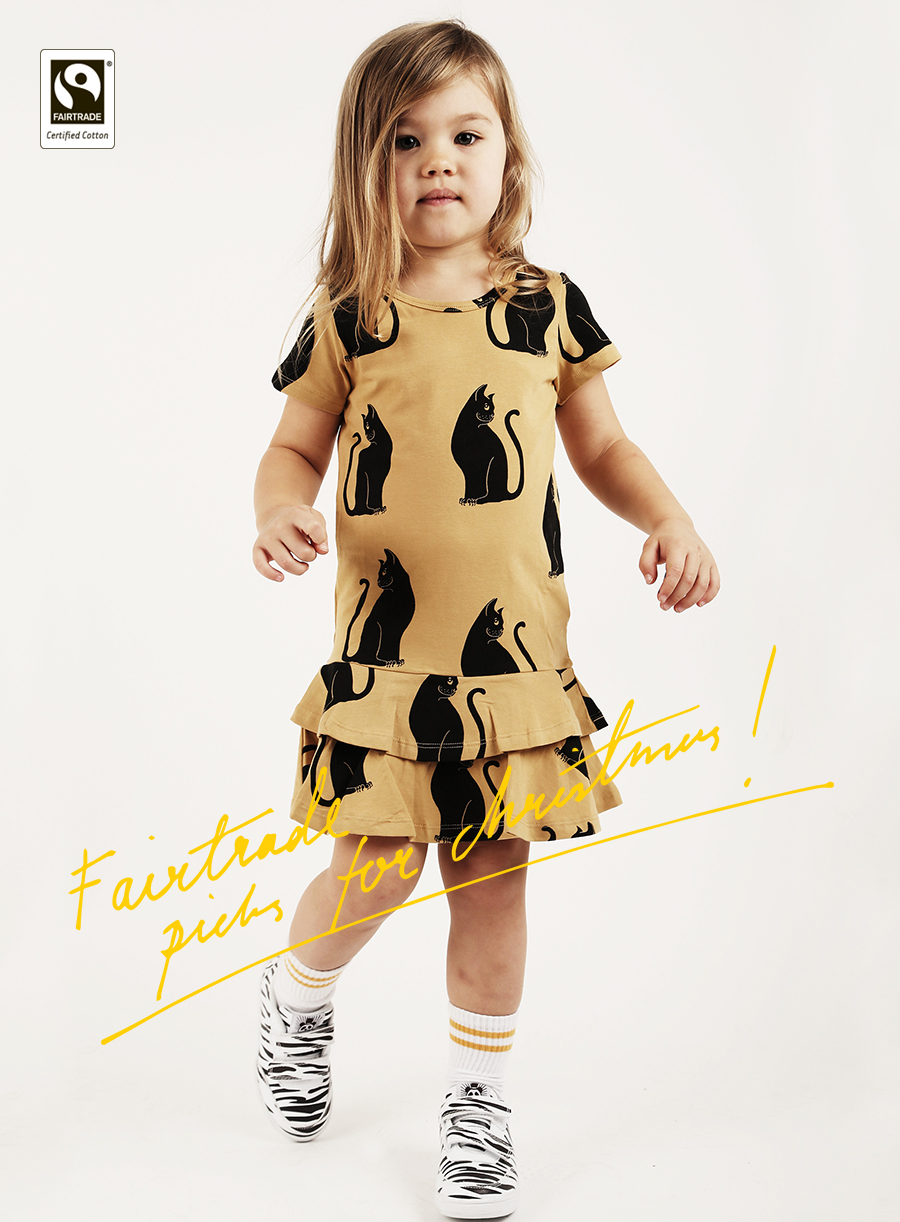 Fairtrade certified cotton kids clothes by Mini Rodini