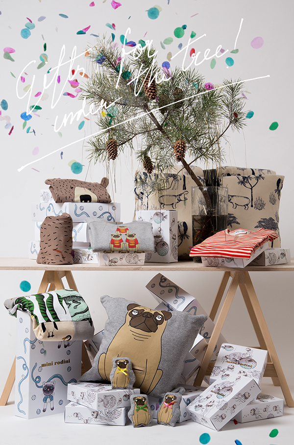 Holiday gift guide by Mini Rodini