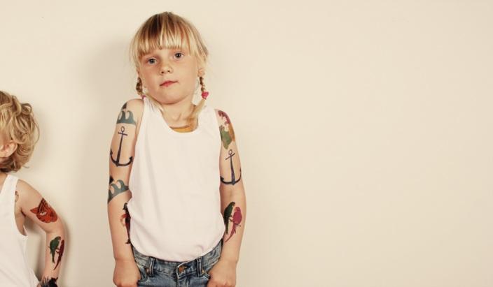 Tatueringar för barn