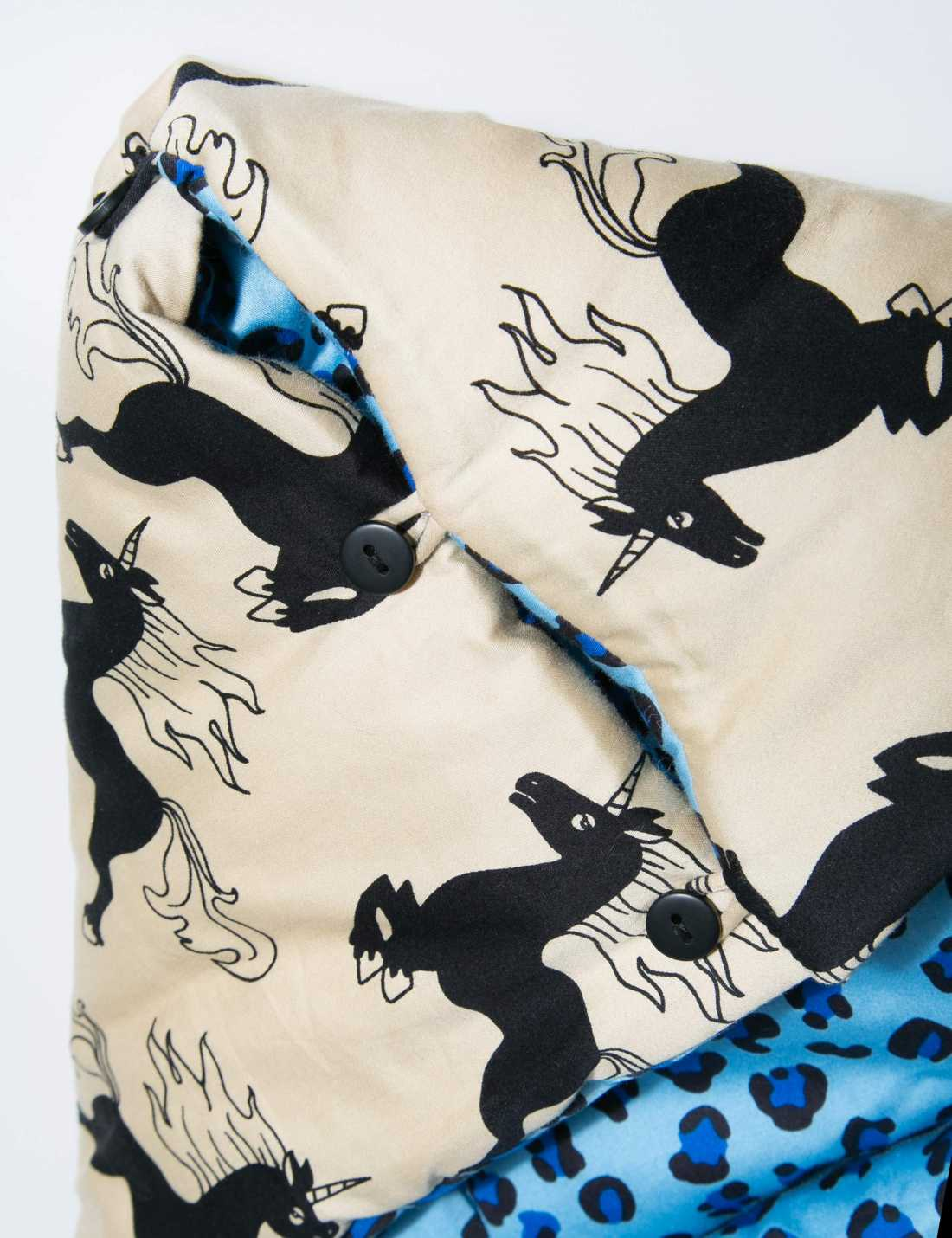 Unicorn Baby-Sovpåse/lekmatta