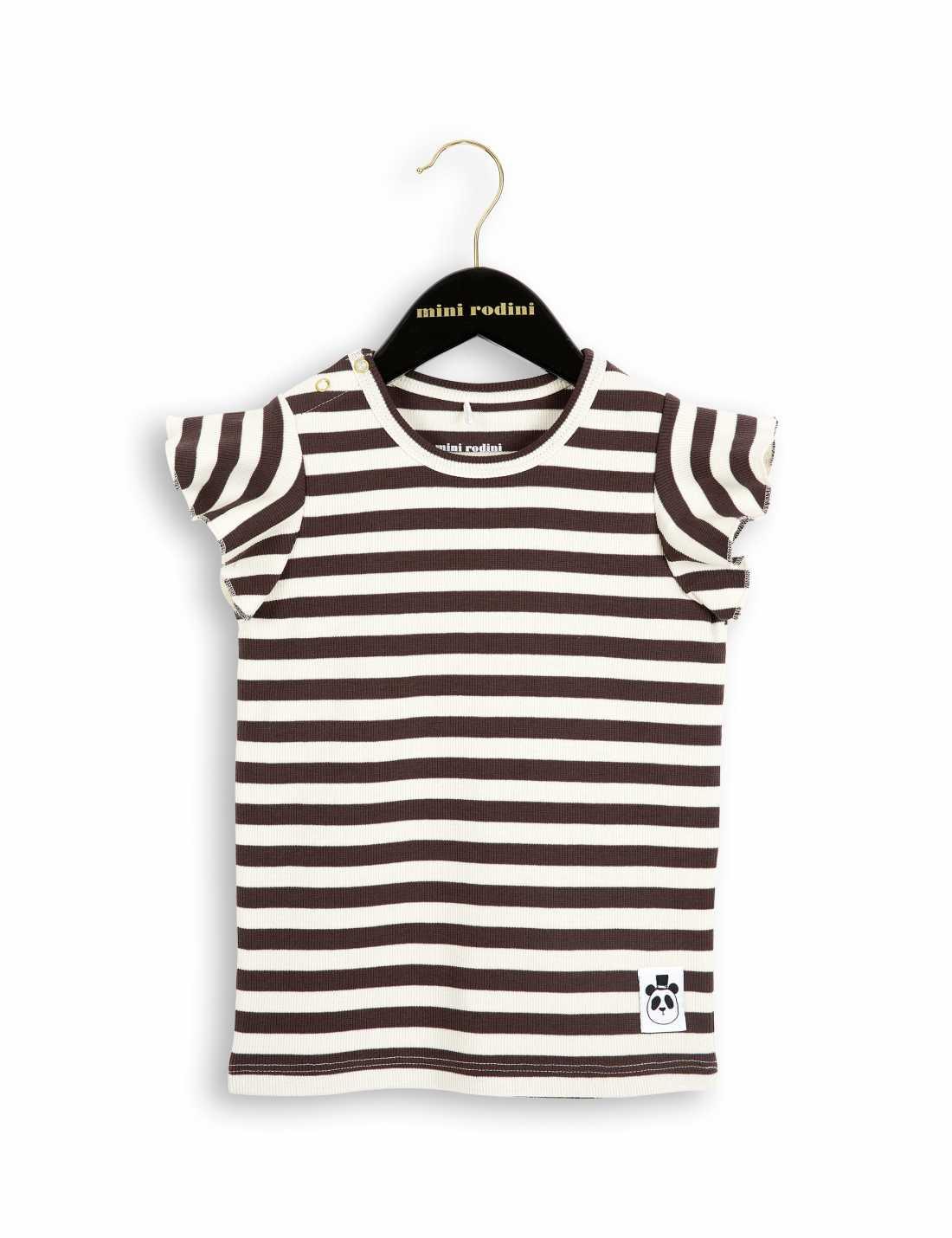 Product thumbnail of Rib T-Shirt Med Volangärm