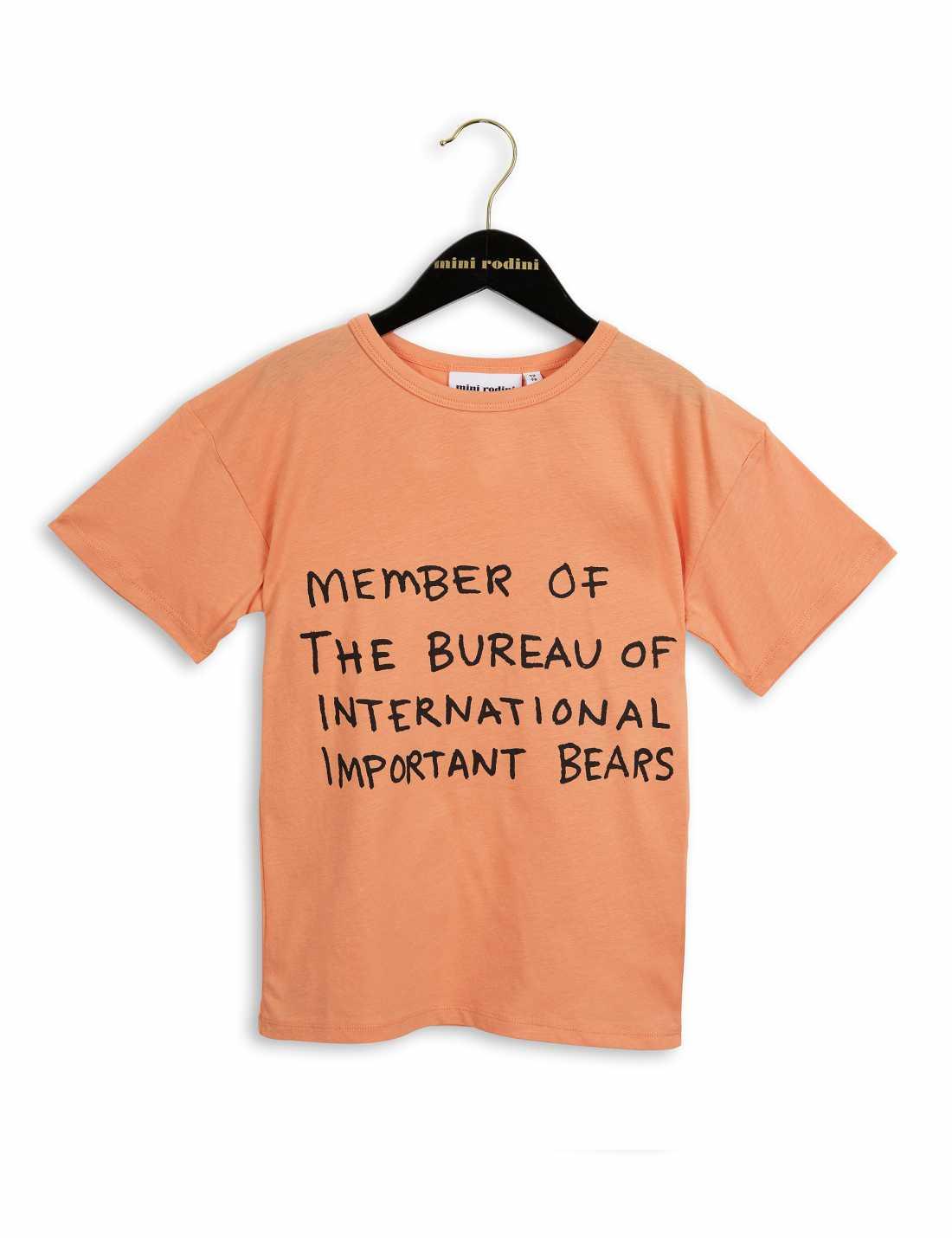 Product thumbnail of Bear Korallfärgad T-Shirt Med Tryck