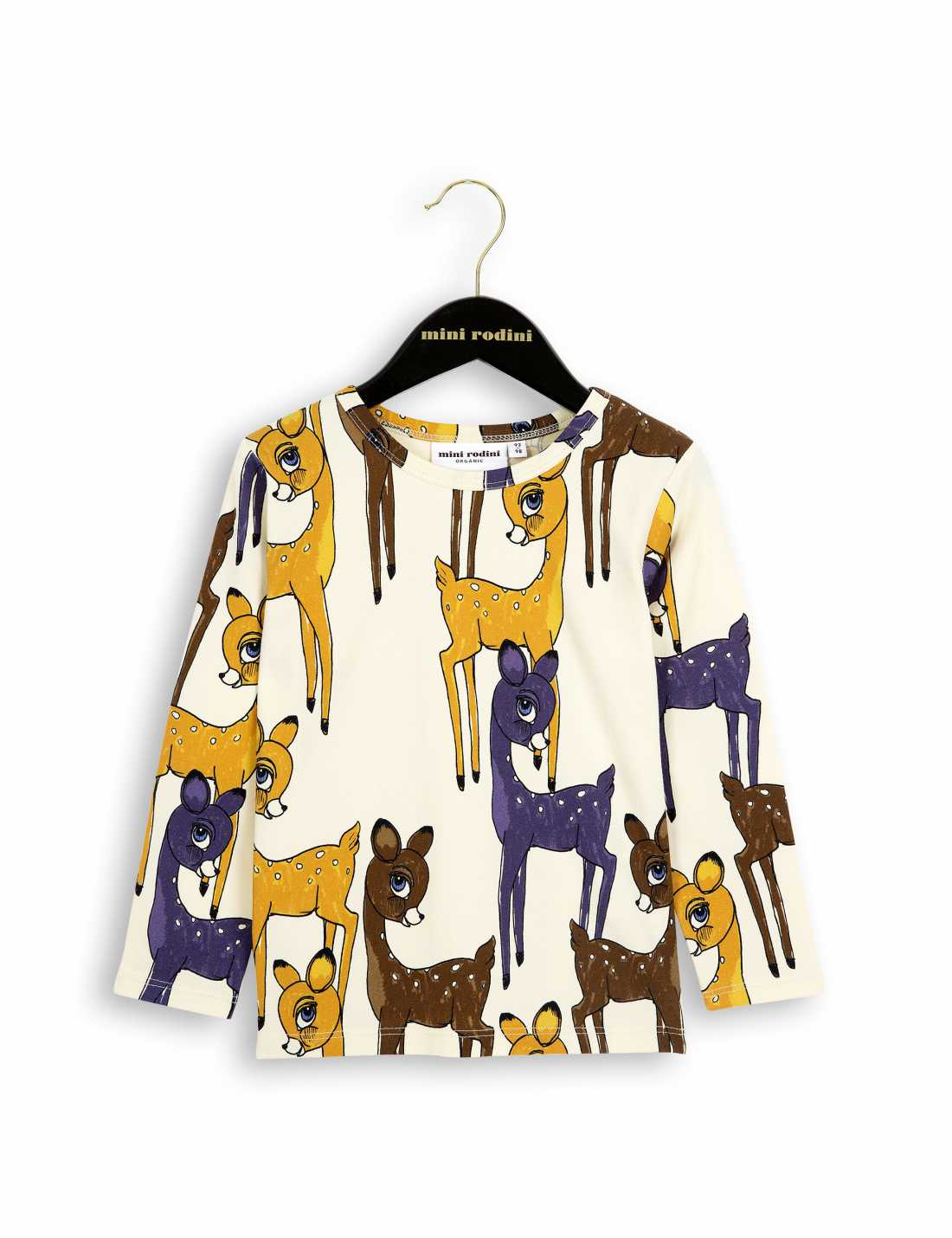 Roe Deer Långärmad T-Shirt Med Rådjur