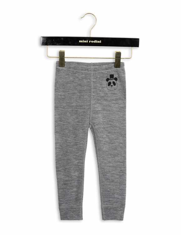 PANDA MERINO WOOL LEGGINGS
