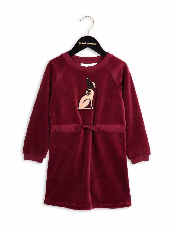 RABBIT VELOUR DRESS