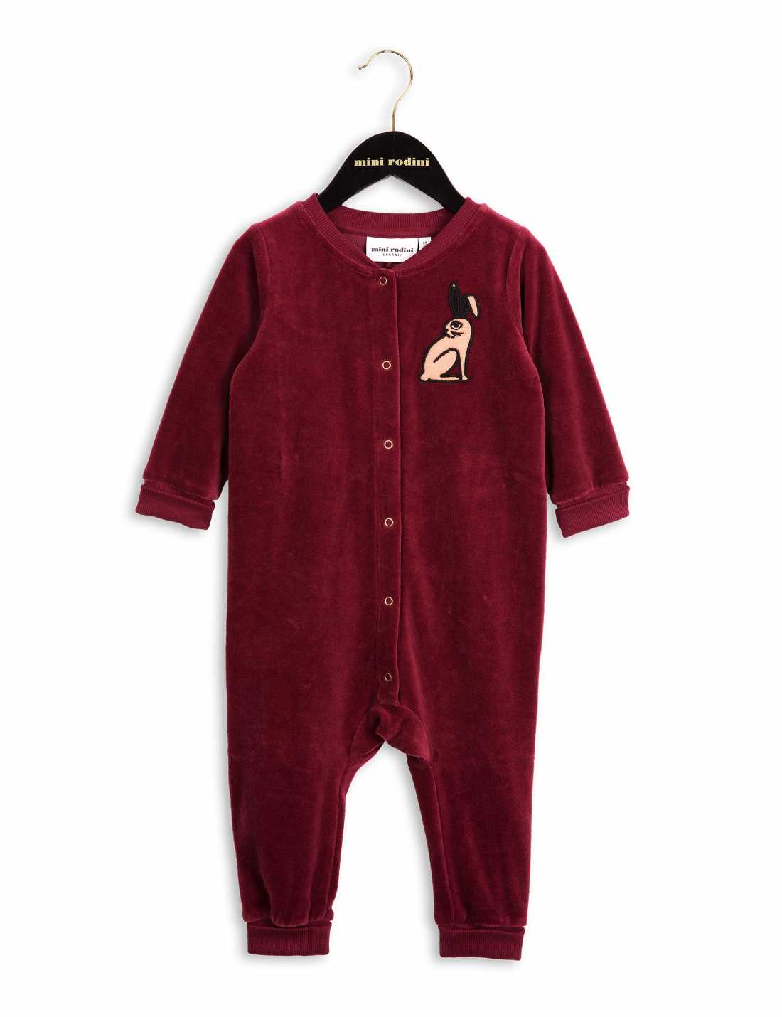 Product thumbnail of Rabbit Velour Onesie