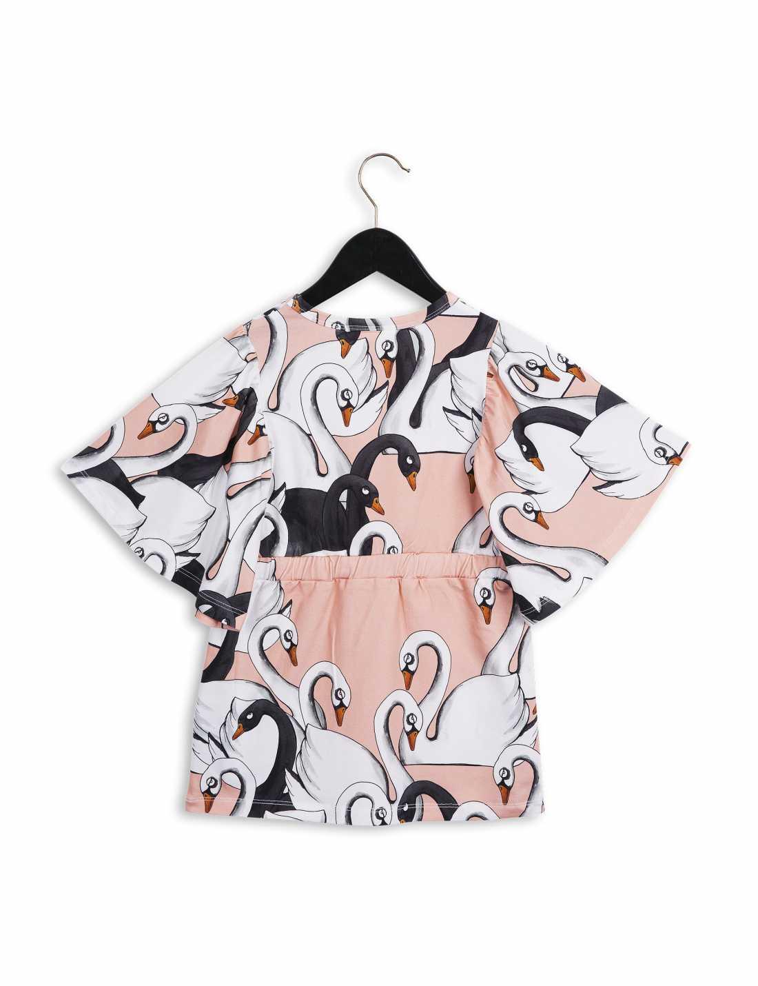 Swan Kimono-Klänning
