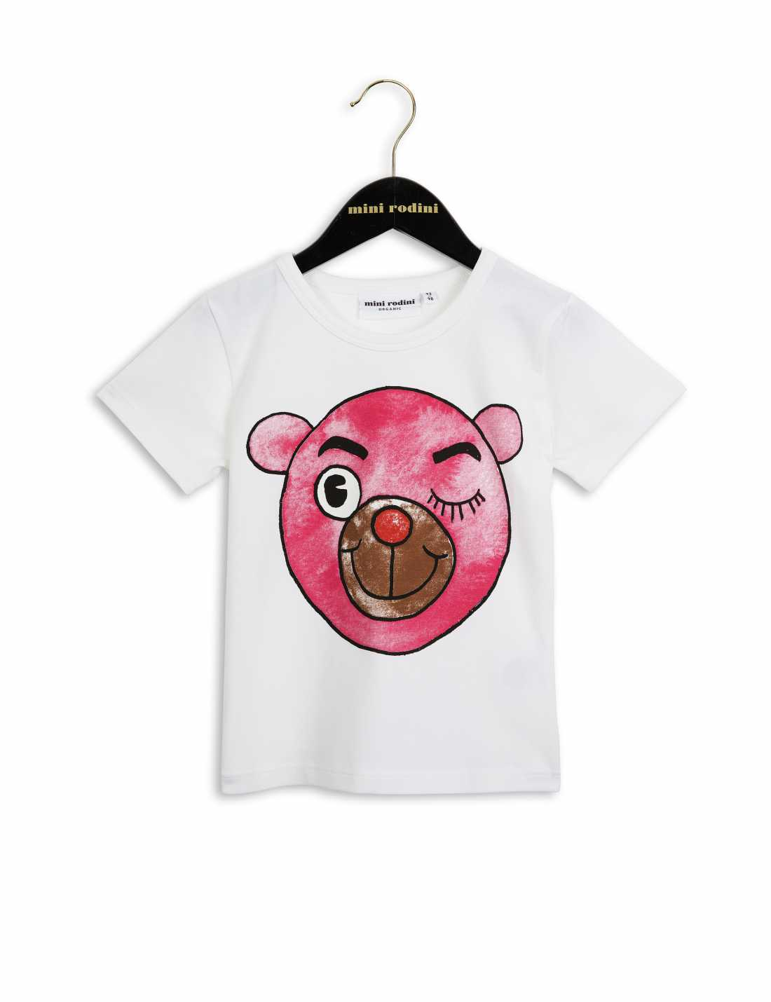 Product thumbnail of Bear Vit T-Shirt Med Tryck