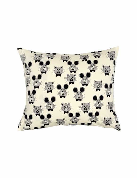 Black & grey pillowcase