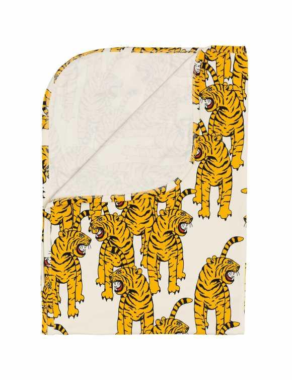 Bengal tiger baby blanket