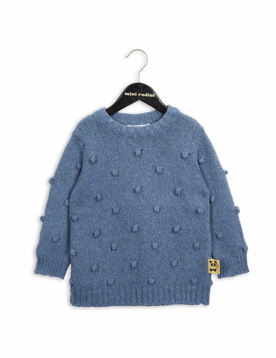 Product thumbnail of Denim Knitted Sweater