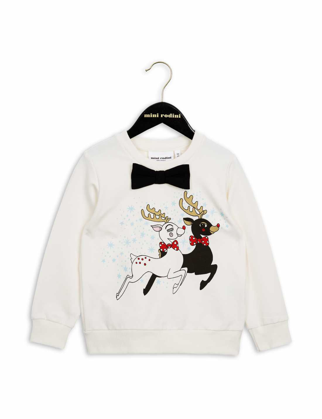 Product thumbnail of Reindeer Sweatshirt With Bow