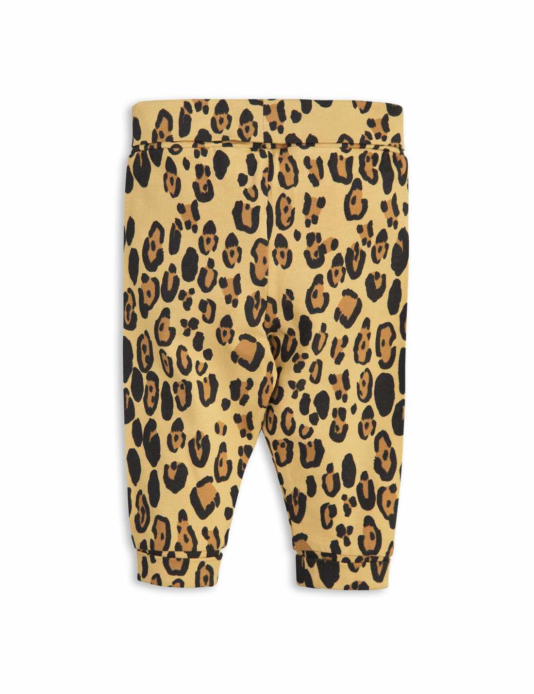 Basic Leopard Newborn Leggings