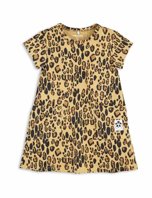 BASIC LEOPARD DRESS