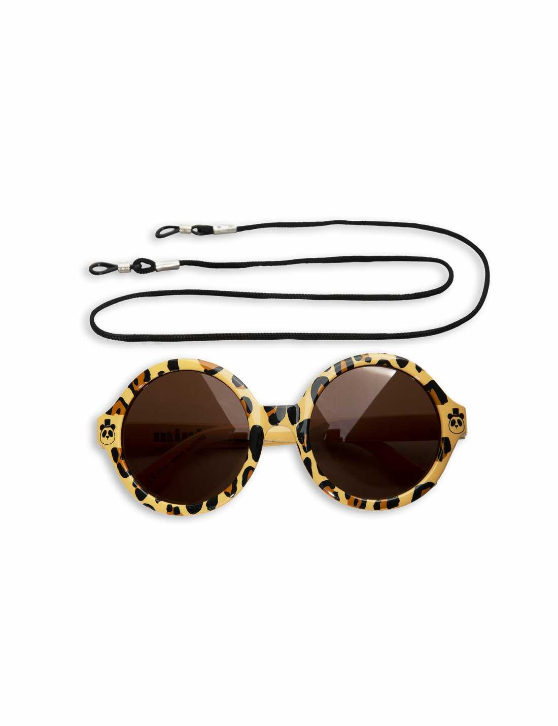 Product thumbnail of Leopard Round Sunglasses