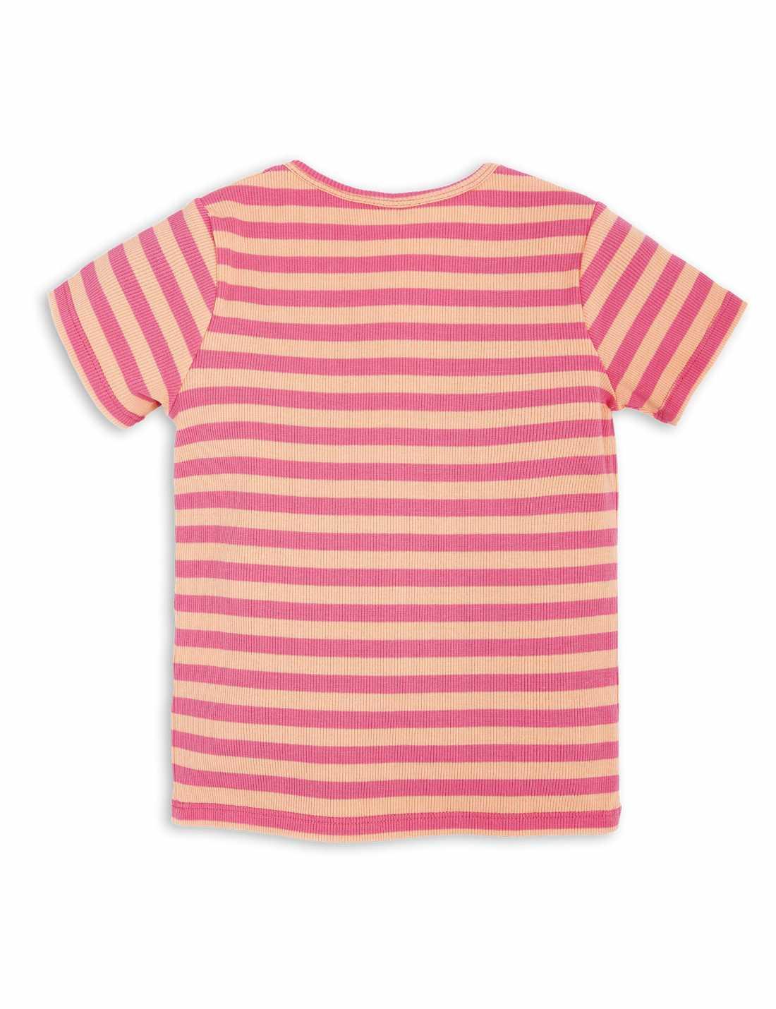 Stripe Rib T-Shirt