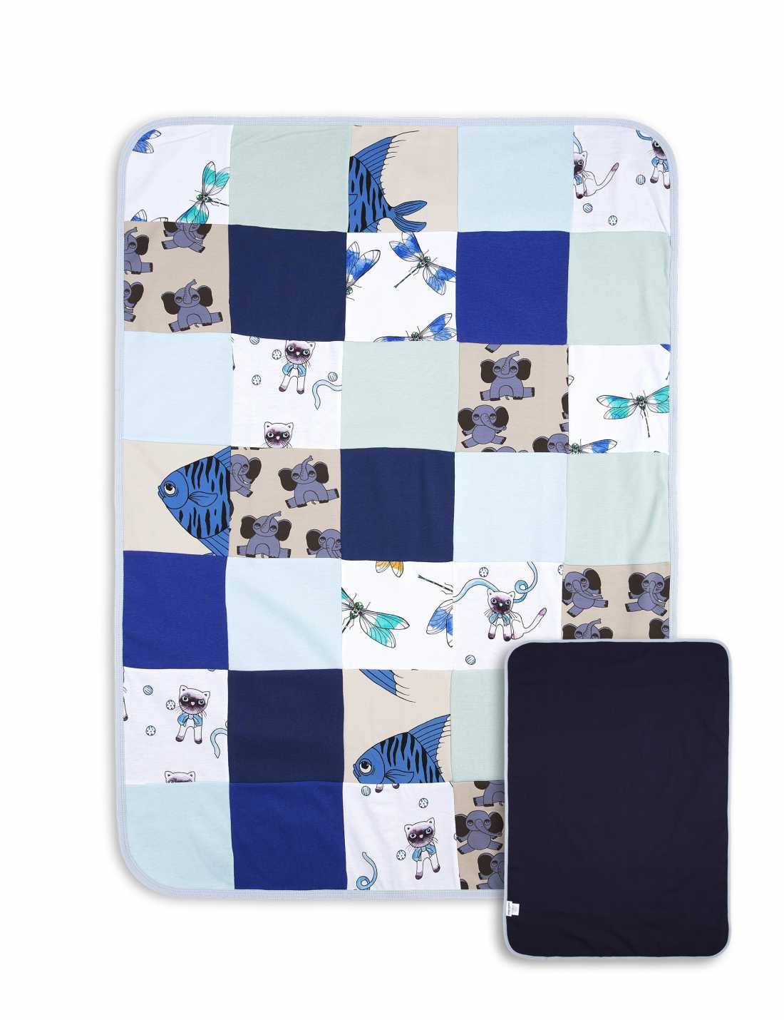 Product thumbnail of Patchwork Baby Blanket