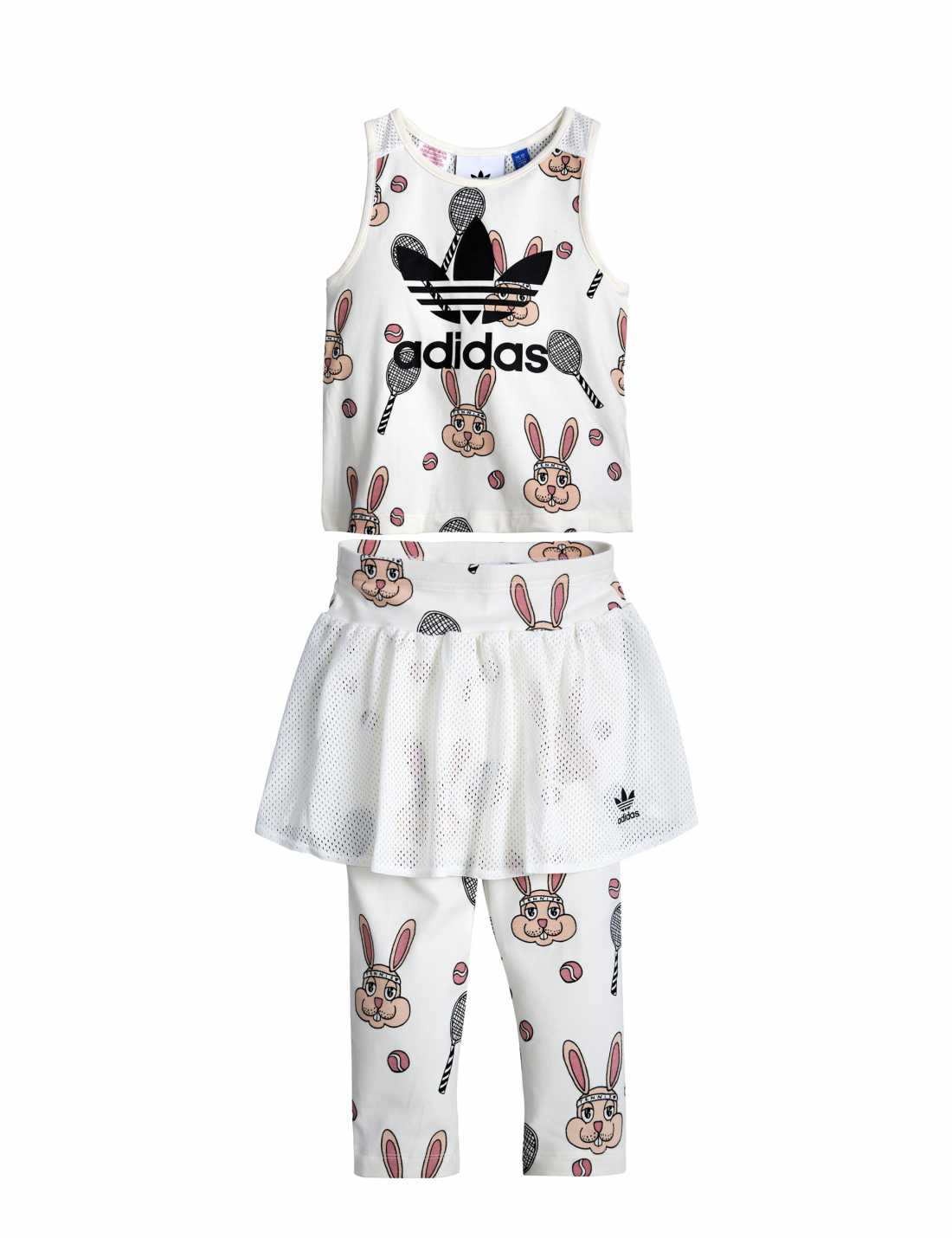 Product thumbnail of Adidas Originals By Mini Rodini Skirt Set