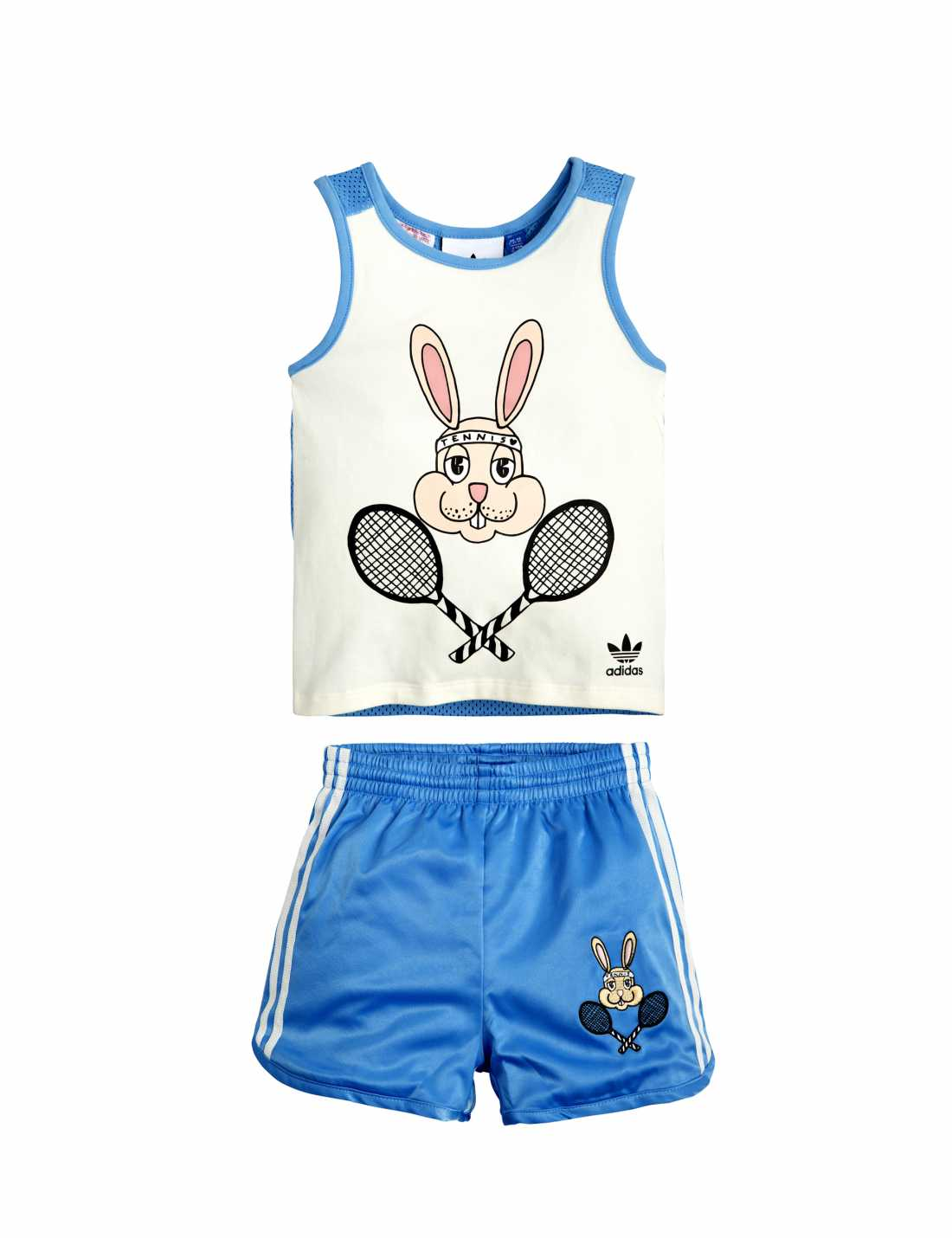 Product thumbnail of Adidas Originals By Mini Rodini Track Shorts Set