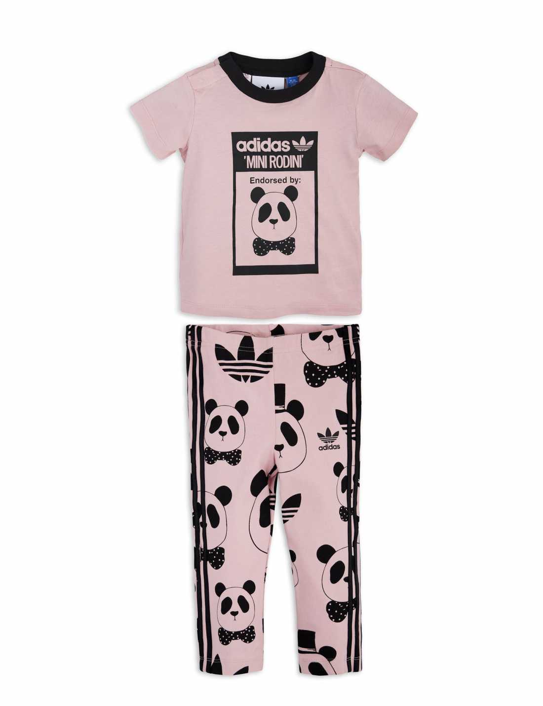 Product thumbnail of Adidas Originals By Mini Rodini Leggings Set